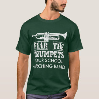Trumpet Music Marching Band Personalized Shirt