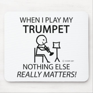 Trumpet Nothing Else Matters Mouse Pad