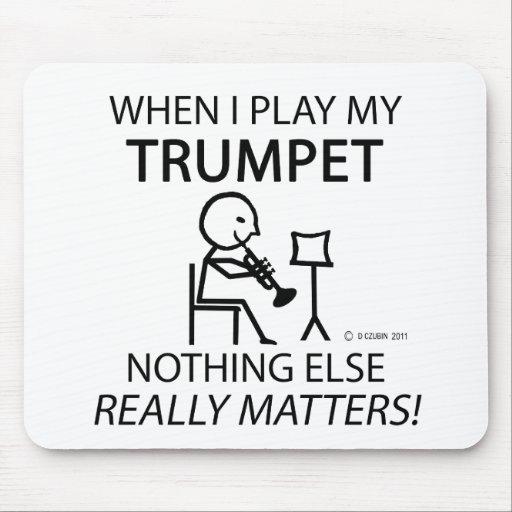 Trumpet Nothing Else Matters Mousepads