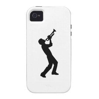 Trumpet player iPhone 4 case