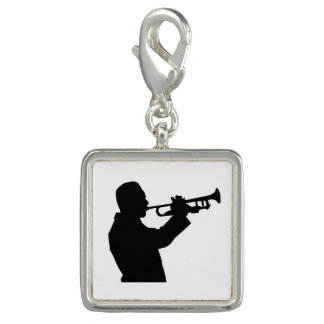 Trumpet Player Charm