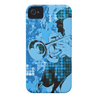 Trumpet Player - Customizable! iPhone 4 Cases