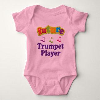 Trumpet Player (Future) Baby Bodysuit