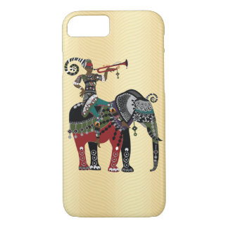 Trumpet Player iPhone 7 Case