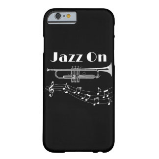 Trumpet Player Jazz On Barely There iPhone 6 Case