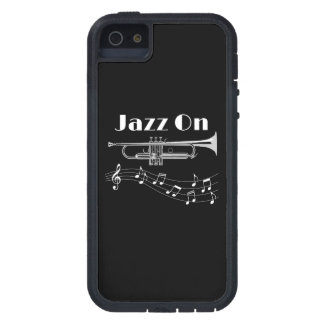 Trumpet Player Jazz On iPhone 5 Cases