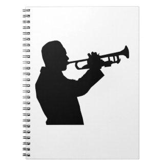 Trumpet Player Notebook