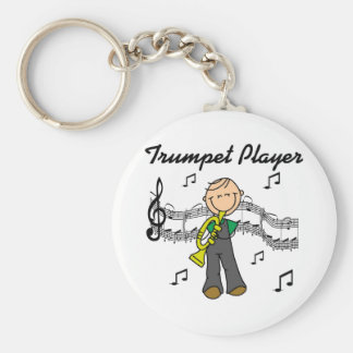 Trumpet Player T-shirts and Gifts Key Chain