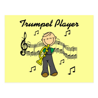 Trumpet Player T-shirts and Gifts Post Card