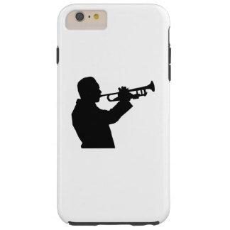 Trumpet Player Tough iPhone 6 Plus Case