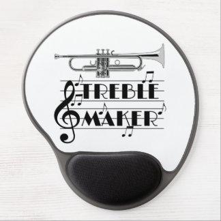 Trumpet Player Treble Maker Gel Mouse Pad