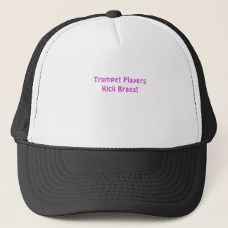 Trumpet Players Kick Brass Trucker Hat