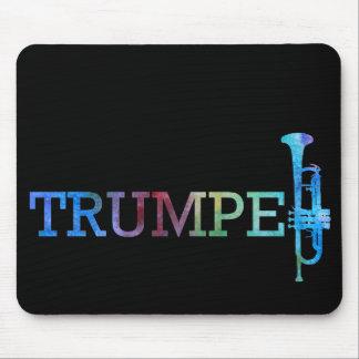 Trumpet Rainbow Mouse Pad