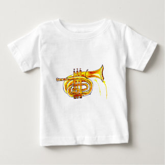 Trumpet Simple Sketch Baby T-Shirt