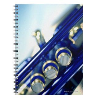 Trumpet Spiral Note Book