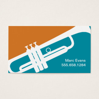 Trumpet Teacher Business Cards