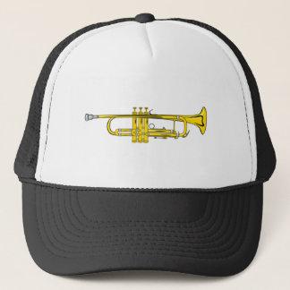 trumpet trumpet trucker hat