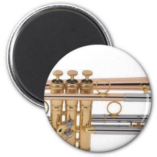Trumpet tshirt magnet