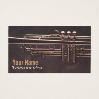 Trumpet Valves Business Cards
