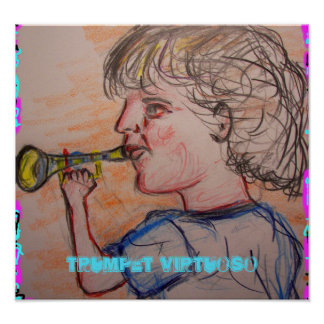 trumpet virtuoso poster