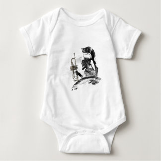 Trumpet Warrior Baby Bodysuit