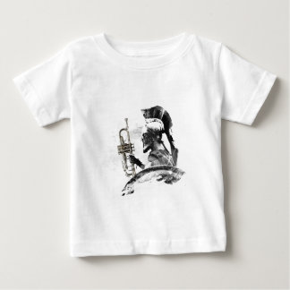 Trumpet Warrior Baby T-Shirt