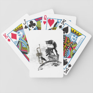 Trumpet Warrior Bicycle Playing Cards