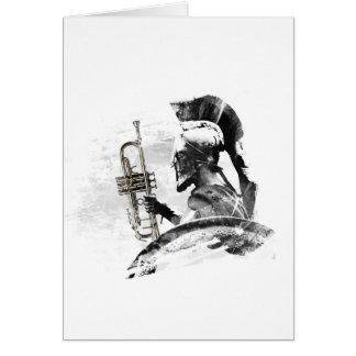 Trumpet Warrior Card