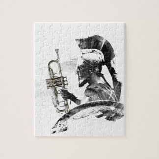 Trumpet Warrior Jigsaw Puzzle