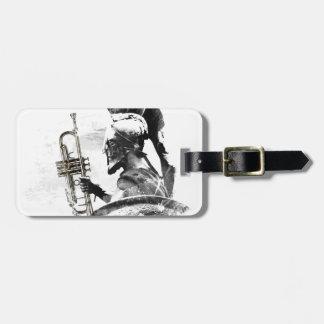 Trumpet Warrior Luggage Tag