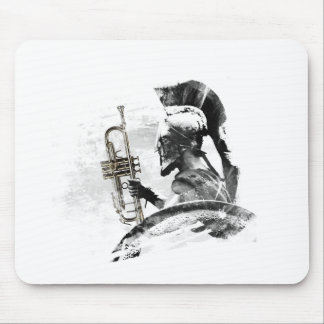 Trumpet Warrior Mouse Pad