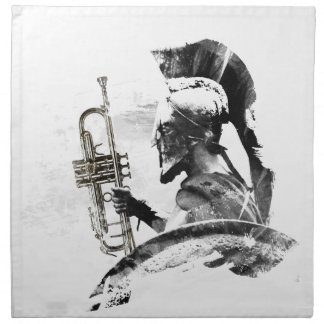 Trumpet Warrior Napkin