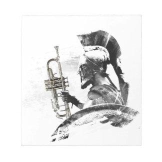 Trumpet Warrior Notepad