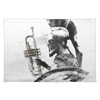 Trumpet Warrior Placemats