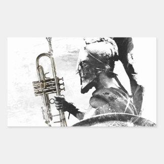 Trumpet Warrior Sticker