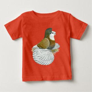 Trumpeter Pigeon AOC Baldhead Baby T-Shirt