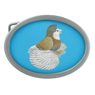 Trumpeter Pigeon AOC Baldhead Belt Buckles