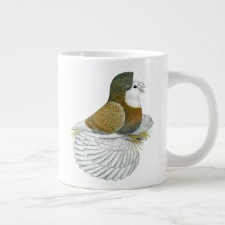 Trumpeter Pigeon AOC Baldhead Giant Coffee Mug