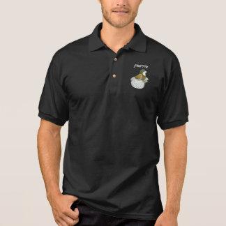 Trumpeter Pigeon AOC Baldhead Polo Shirt