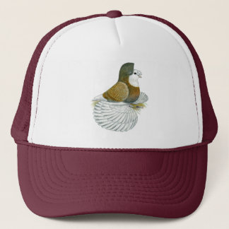 Trumpeter Pigeon AOC Baldhead Trucker Hat
