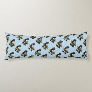 Trumpeter Pigeon Dark Splash Body Pillow