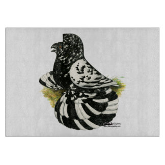 Trumpeter Pigeon Dark Splash Cutting Board