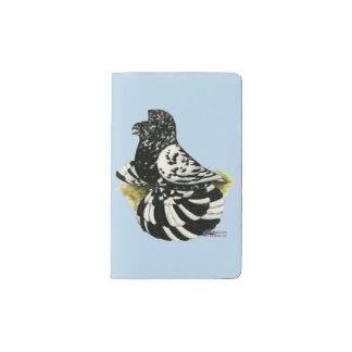 Trumpeter Pigeon Dark Splash Pocket Moleskine Notebook