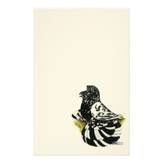 Trumpeter Pigeon Dark Splash Stationery