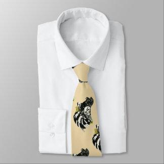 Trumpeter Pigeon Dark Splash Tie