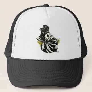 Trumpeter Pigeon Dark Splash Trucker Hat