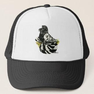 Trumpeter Pigeon Dark Splash Trucker Hat
