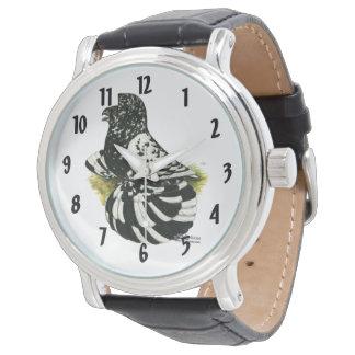 Trumpeter Pigeon Dark Splash Watch