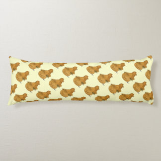 Trumpeter Pigeon Deroy Body Pillow
