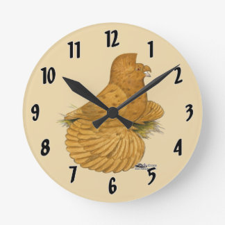 Trumpeter Pigeon Deroy Clocks